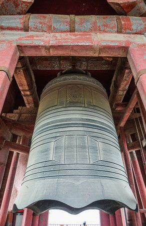 Bell and Drum Towers in Beijing China