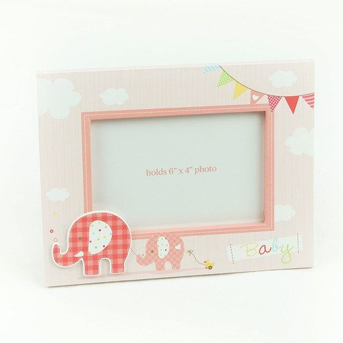 Pink Baby Girl Photo Frame
