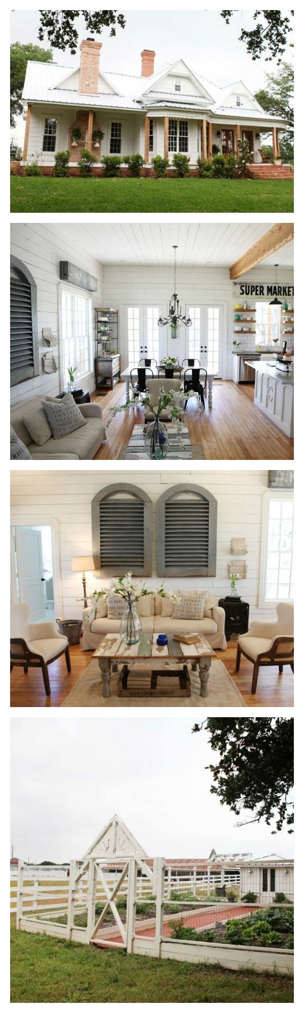 tour chip and joanna gaines 39 farmhouse like you 39 ve never seen it before amerikanische h user. Black Bedroom Furniture Sets. Home Design Ideas