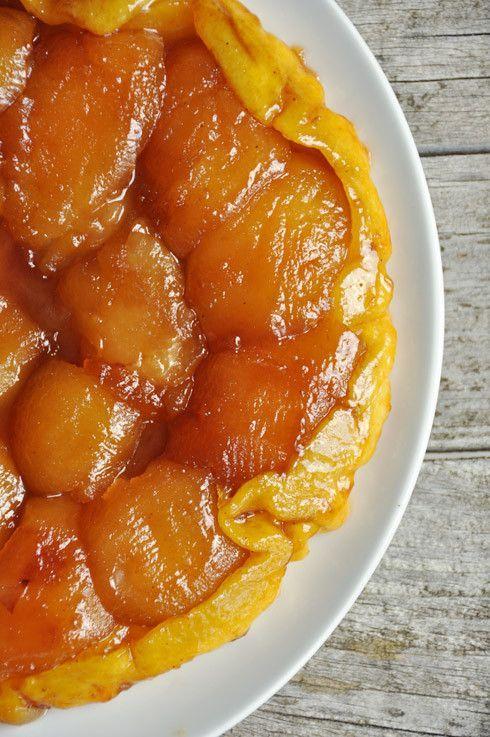 Tarte tatin aux pommes - recette facile - La cuisine de Nathalie - La cuisine de Nathalie