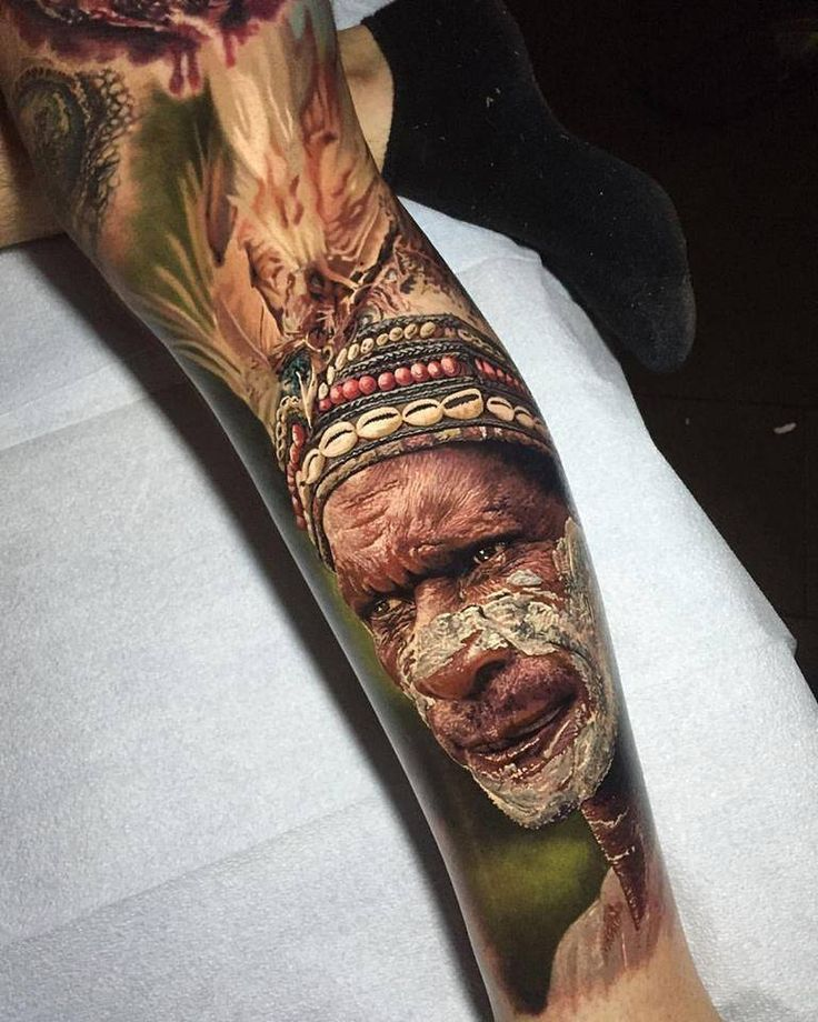 This new tattoo by Steve Butcher is the most photo-realistic tattoo I've ever seen. [Ship Shape Tattoo - Auckland NZ]