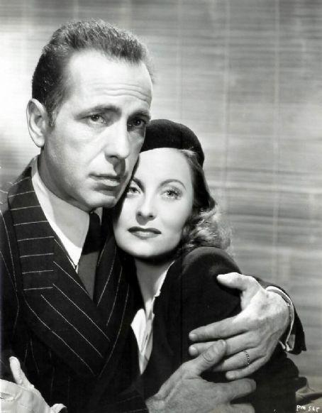 Humphrey Bogart with Michelle Morgan!