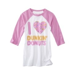 Target Dunkin Donut Love Tshirt!!  Is it bad that I kind of want this?