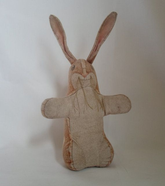 Rare Vintage Plush Velveteen Rabbit Armand Eisen Plush 1983 The Toy