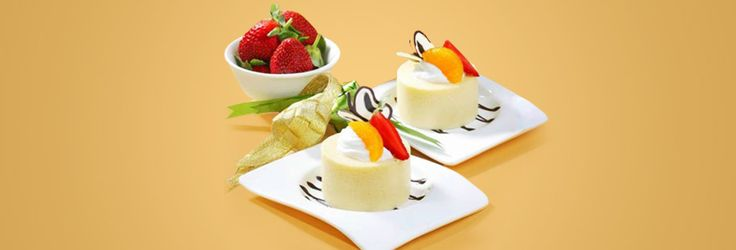 Pudding Cake Susu Topping Buah | Blue Band Indonesia
