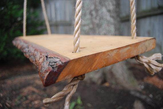 wooden plank swing 2