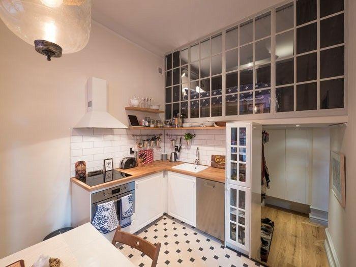 Compact living, Storgatan 25, Östermalm. Arkitekt Victor Marx.