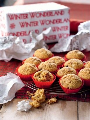 CHRISTMAS MORNING MUFFINS - nigella lawson - i love love love these and they fill the house with beautiful smell of spices on xmas morning