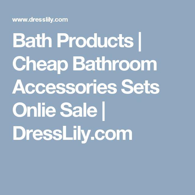 Best Cheap Bathroom Accessories Ideas On Pinterest Jar
