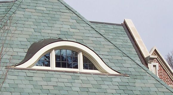 Unfading Green slate roof from Vermont/New York