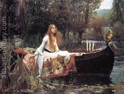 The Lady of Shalott 1888 by John William Waterhouse
