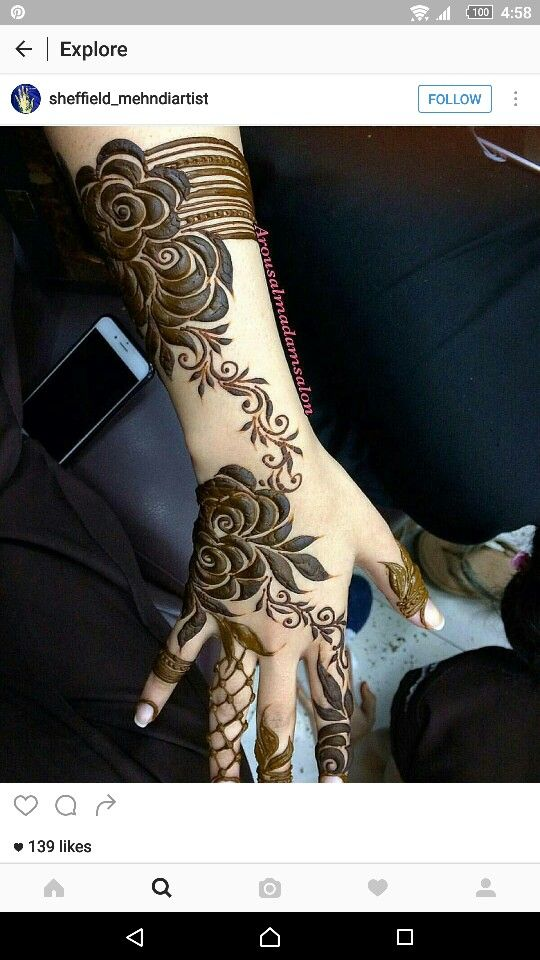Mehndi design                                                                                                                                                                                 More