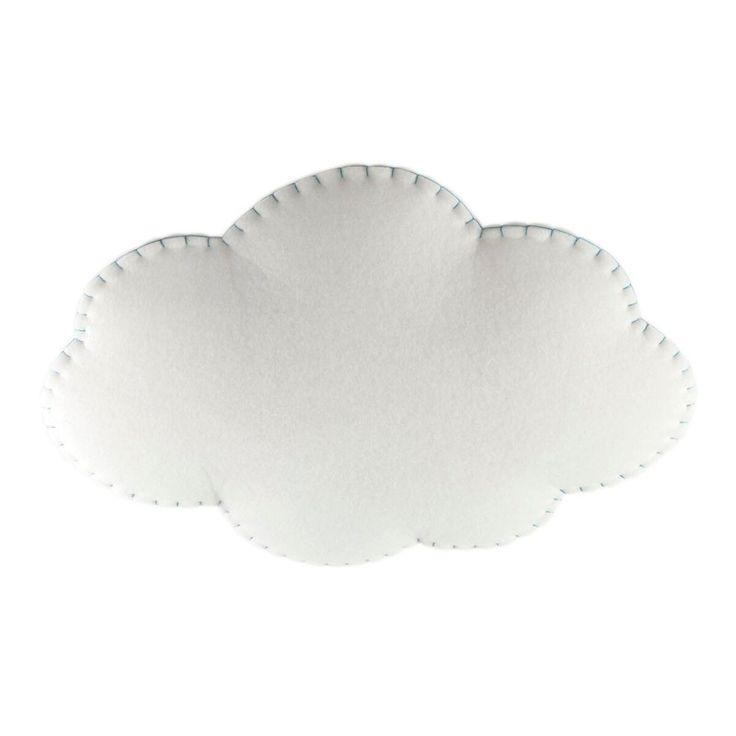 Wunderschöne Deckenlampe Wolke L, Softlight, Nahtfarbe wählbar, 65 x 85 cm, von…