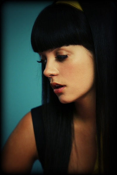 Lily Allen. Its like loooking into a mirror, a prettier radder mirror.