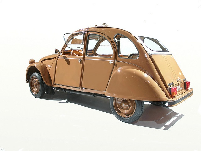 Citroën 2CV by Hermes - in real it's even better! Salted caramel colour...love it