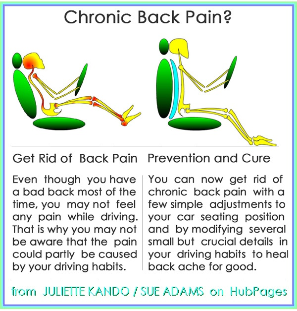 Can Car Seat Cause Lower Back Pain
