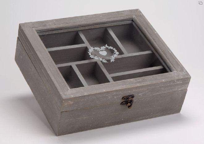 Scatola Porta Lavoro in legno Amadeus Cades
