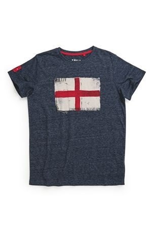 Buy Navy Flag Short Sleeve T-Shirt (3-16yrs) from the Next UK online shop