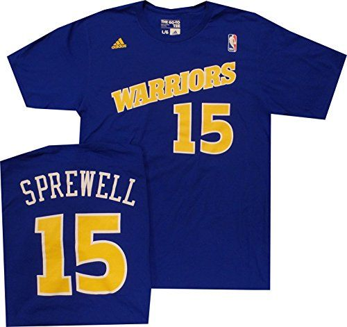 Cheap Golden State Warriors Latrell Sprewell Throwback Adidas 1992 Shirt Father day sale