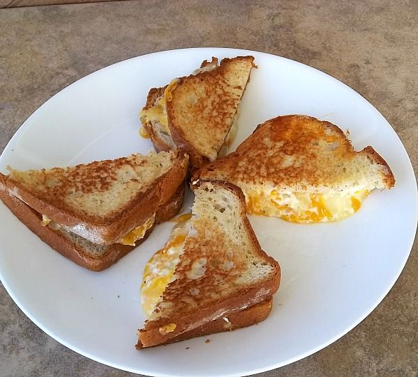 Fancy Grilled Cheese Sandwiches