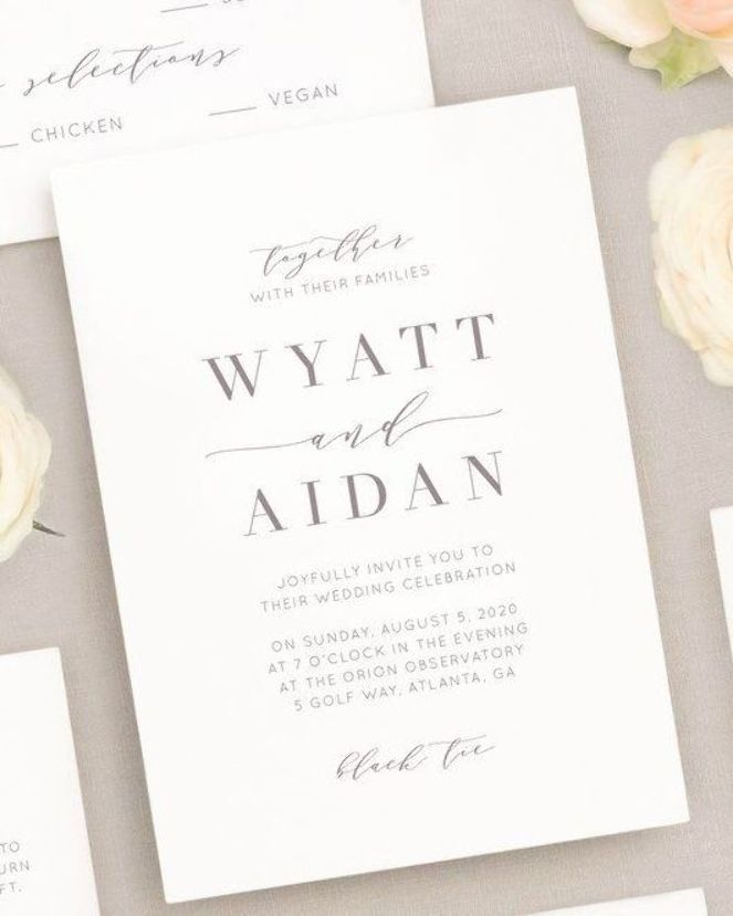 This Is The Type Of Wording We Have In Mind Wedding Invitation