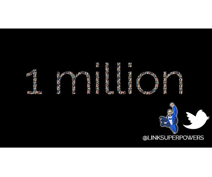 To all those who have supported us with such dedication on Twitter, one million thankyou's from the everyone associated with Team LinkedSuperPowers! https://www.twitter.com/Linksuperpowers