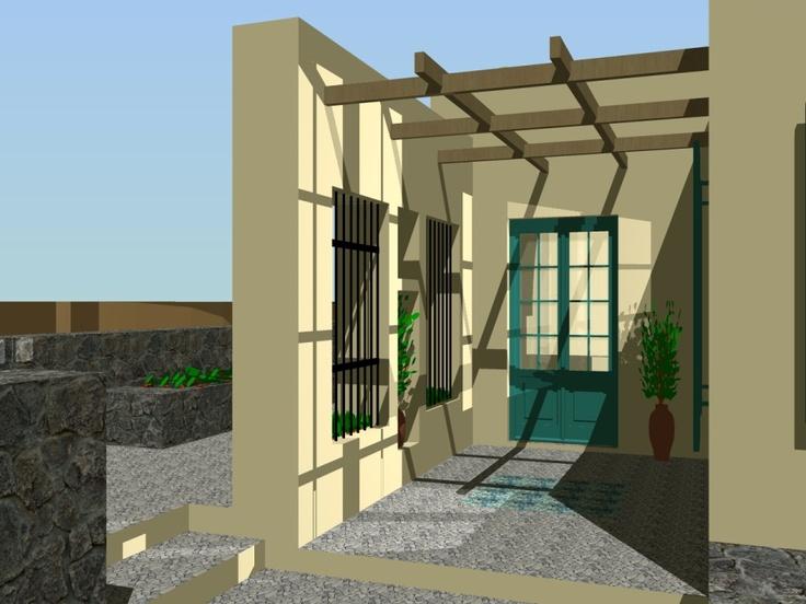 Κατοικία στη Τζια by Greek architect Orfanos G.