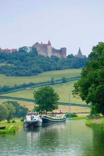 Burgundy Canal, France