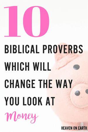 Proverbs   Biblical advice   Personal Finances   Financial Wisdom   Money   Money saving ideas   Financial help   Devotions   Making Money online   Money tips   Advice