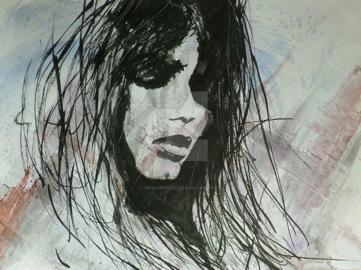 black ink by DeviantFede