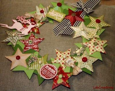 DIY de Noël - Les couronnes