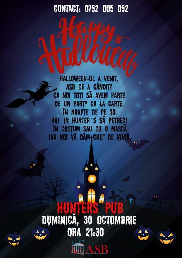 Happy Halloween @Hunter's Pub