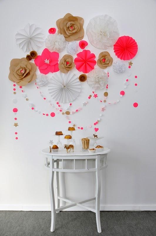 Paper craft decorations #papercrafts #diydecorations