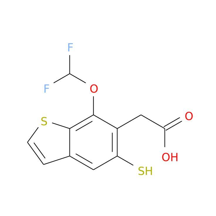7-(DIFLUOROMETHOXY)-5-MERCAPTOBENZOTHIOPHENE-6-ACETIC ACID is now  available at ACC Corporation