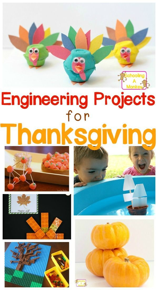 Thanksgiving STEM projects are a fun way to keep kids occupied when parents are in the kitchen. These projects will boost your kids' engineering skills.