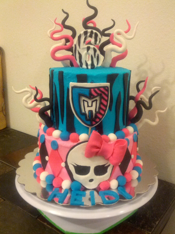 102 Best Images About Monster High Birthday Cake Ideas On