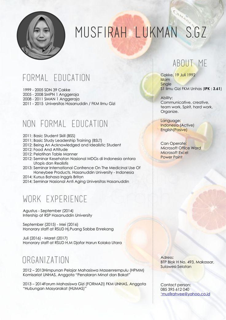 Anda menyimpan ke my design curriculum vitae design #curriculumvitae #design #coreldraw #psychograph
