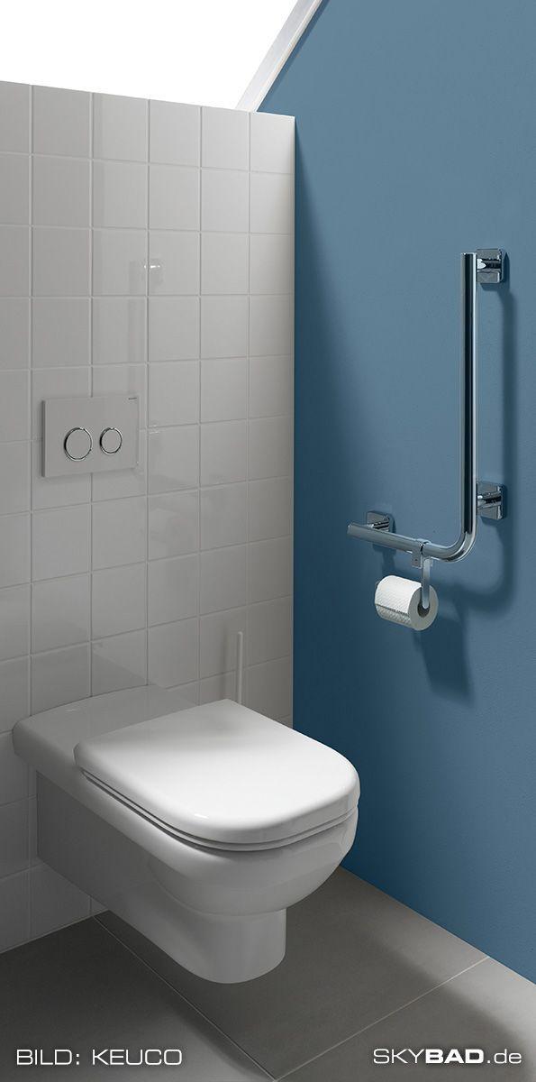 Ein Ideal Ausgestattetes Barrierefreies Badezimmer Besteht Aus Einer Behindertengerechten Toilette Einer Ebe Barrierefrei Bad Barrierefreie Duschen Badezimmer