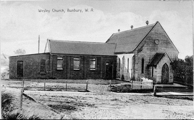 066604PD: Bunbury Wesley Church, ca 1911 http://encore.slwa.wa.gov.au/iii/encore/record/C__Rb2166373?lang=eng