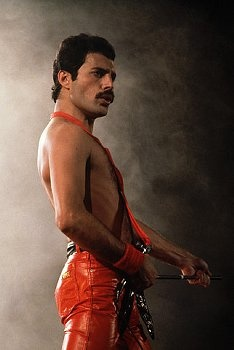 Fredy Mercury (1946-1991) I don't care what anybody else says but this guy was hot!! Queen!