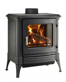 Nestor Martin S Series Stanford 33 S33 - Woodburning Stove - Wood Burning Stove - Freestanding Stove - Multifuel Stove - Cast Iron Stove - Traditional Stove