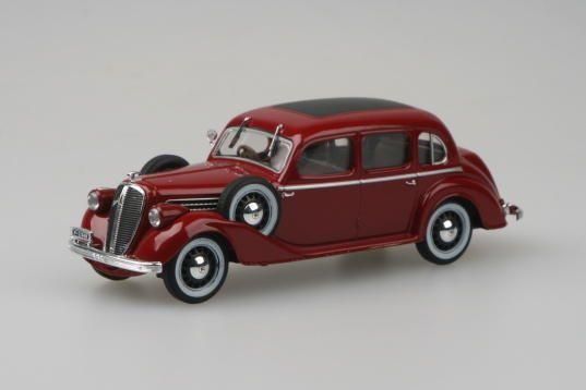 Abrex Skoda Superb 913 1938 1:43 Purple Red