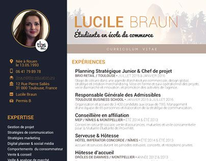 """Check out new work on my @Behance portfolio: """"Curriculum vitae"""" http://on.be.net/1NHzwxN"""