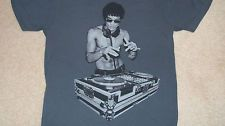 Official BRUCE LEE DJ Avengers Ultron T-Shirt Sm Tony Stark Green Hornet Gung Fu