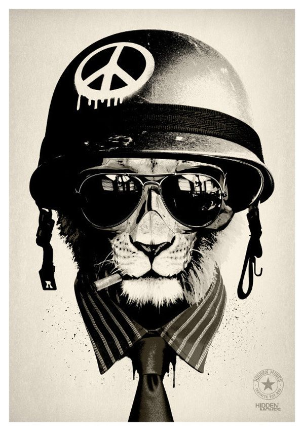 Not far away in an alternate universe, wild animals don helmets for piloting jets, riding motorcycles and going to war. These passionate characters are the