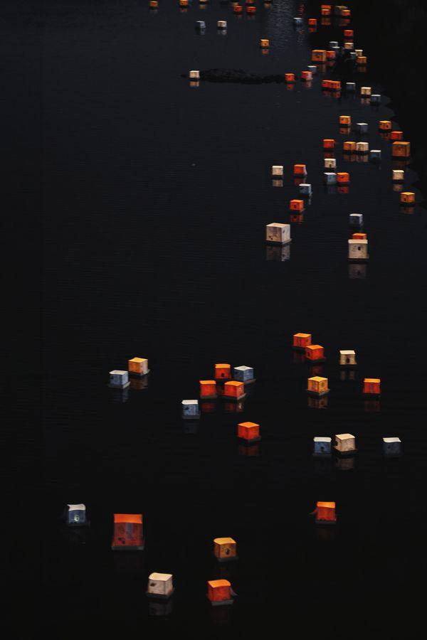 "Hirose river,Sendai,miyagi,Japan 500px / Photo ""Lantern Floating"" by keiichi ebina"