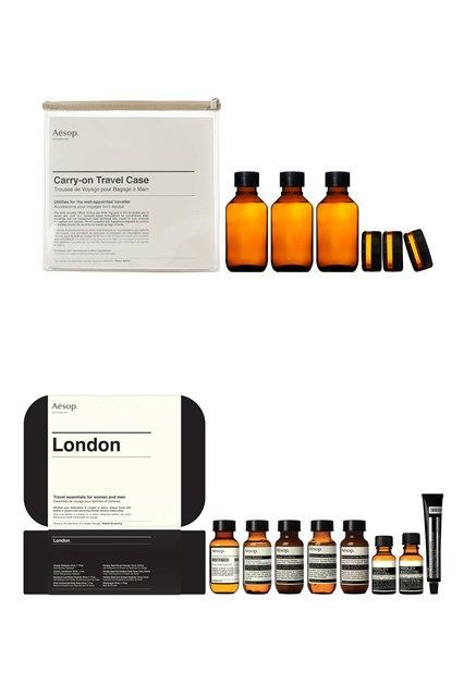 Aesop Carry-On Travel Case And City Kits: Beauty Essentials (Vogue.com UK)