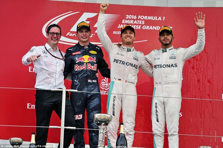Rosberg triumphed in front of Red Bull's Max Verstappen and Mercedes team-mate and championship rival Lewis Hamilton