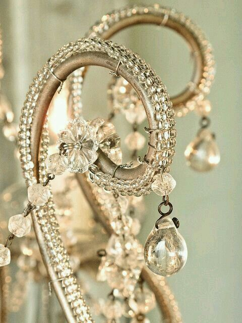 this beading is useful for refurbishing an old chandelier back to life!