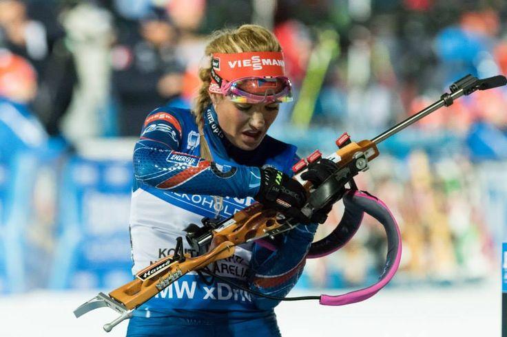 11.03.2015, Kontiolahti, Finland (FIN): Gabriela Soukalova, Women individual 15km- IBU world championship biathlon, Kontiolahti (FIN),